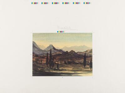 HRH Prince of Wales, 'Greek Island Landscape', 1999