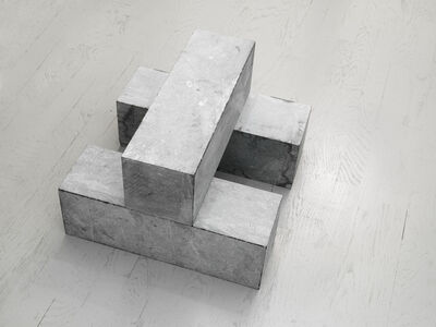 Carl Andre, '1 Block on 2 Blocks', 2001