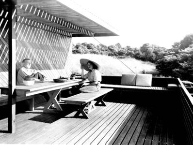 Pedro E. Guerrero, 'Marcel and Connie Breuer, New Canaan, Connecticut (Marcel Breuer Architect)', 1949