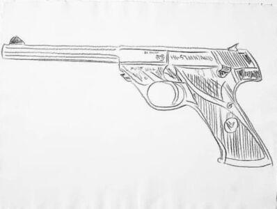 Andy Warhol, 'Gun', 1981