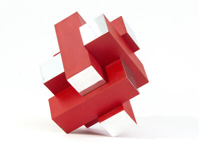 Philippe Pallafray, '12 Inch Cube Red 1/10', 2020