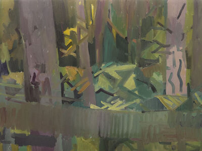 Kimberly Trowbridge, 'Doug Fir Forest, Fall', 2019