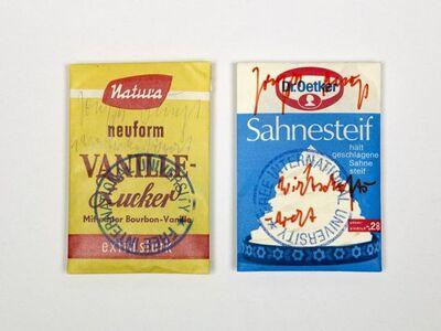 """Joseph Beuys, 'Wirtschaftvert """"Vanillezucker""""', 1976-1984"""