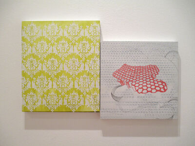 Kiki Gaffney, 'Damask and Honeycomb', 2017