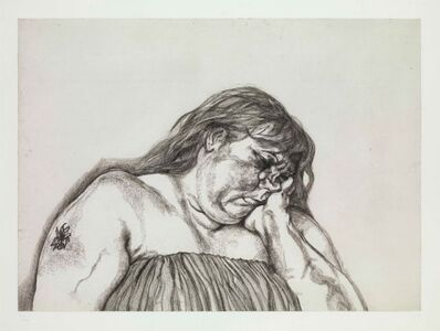 Lucian Freud, 'Woman with an Arm Tattoo', 1996