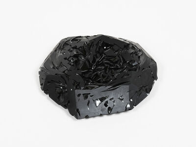 Thaddeus Wolfe, 'Black Pile 1', 2017