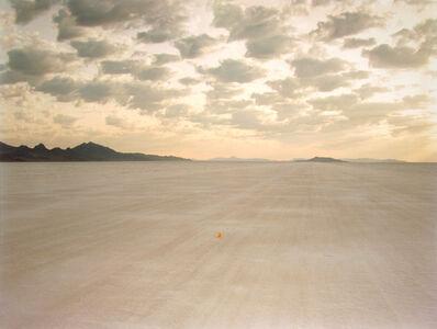 Richard Misrach, 'Demarcation for Rut Repair, Bonneville Salt Flats', 1992