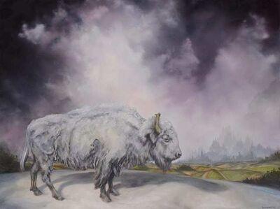Brian Mashburn, 'White Buffalo', 2021