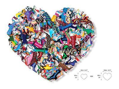 David Kracov, 'Heart and Soles', 2014