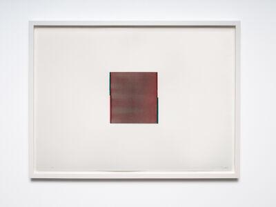 Callum Innes, 'Perylene Maroon / Phthalo Green (no. 20.)',  2013