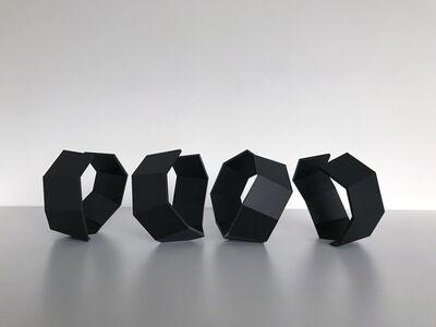 Thomas Lendvai, 'Untitled (Black Octagons)', 2018