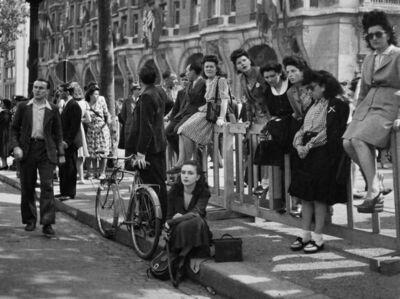 Jacques Henri Lartigue, 'Après le libération, Florette, Champs Elysée, Paris', 1944