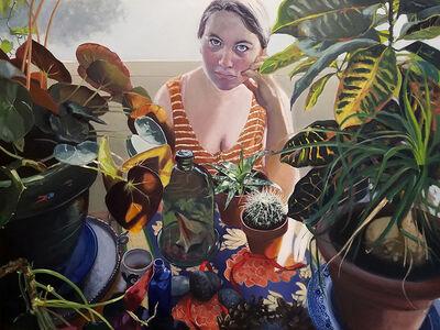 Ellen Starr Lyon, 'My Houseplants', 2019