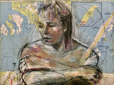 Audrey Anastasi, 'Acquatic Figure', 2018