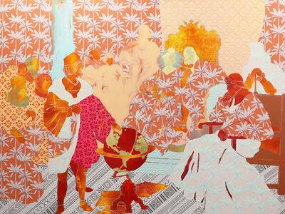Crystal Latimer, 'Untitled with Orange Palms (Before Ferdinand and Isabella 1492, Hoger)', 2019