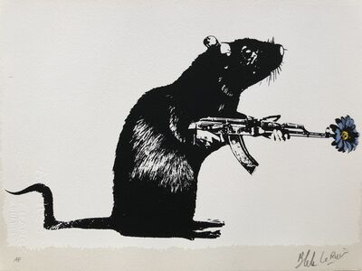 Blek le Rat, 'The Warrior - Artist Proof', 2018