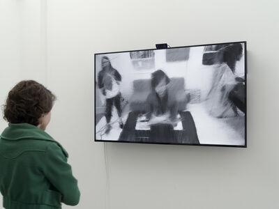 Daniel Rozin, 'Darwinian Rotating Lines Mirror', 2014