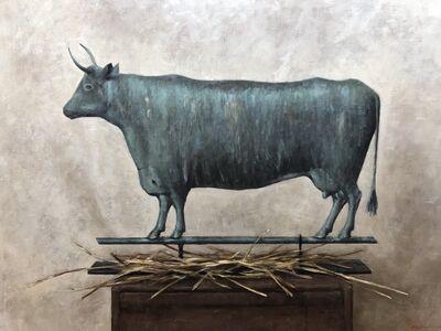 Sarah Lamb, 'Cow Weathervane', 2019