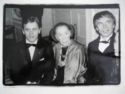 Fred W. McDarrah, 'Martha Graham, Mikhail Baryshnikov, Rudolf Nureyev', 1980-1989