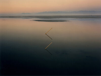 John Pfahl, 'Great Salt Lake Angles, Great Salt Lake, Utah', 1977