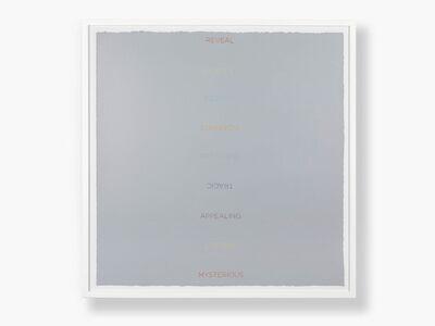 Robert Barry, 'Untitled', 2011