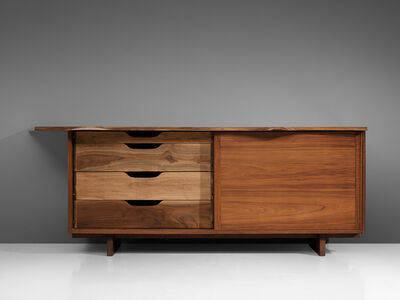 George Nakashima, 'Cabinet with Sliding Doors, 1958', 1958