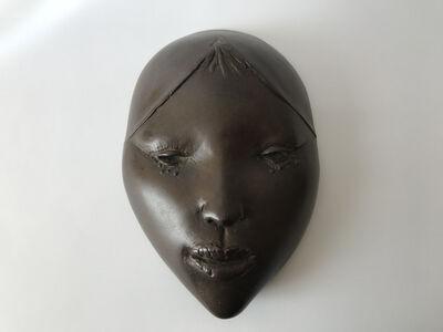 Cornelis Zitman, 'Máscara de Muchacha con taburete', 1975-76