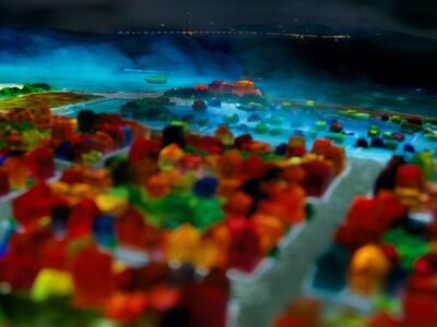 Liz Hickok, 'Marina, San Francisco in Jell-O', 2006