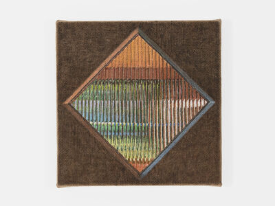 Jennifer J. Lee, 'Reeded Glass Window', 2019