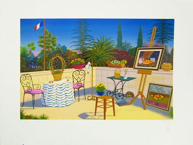 Fanch Ledan, 'Atelier de Cezanne', 1998