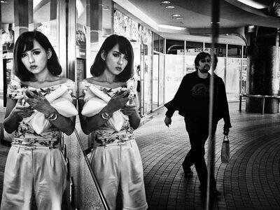 Tatsuo Suzuki, 'Mirror, Shibuya, Tokyo', 2014
