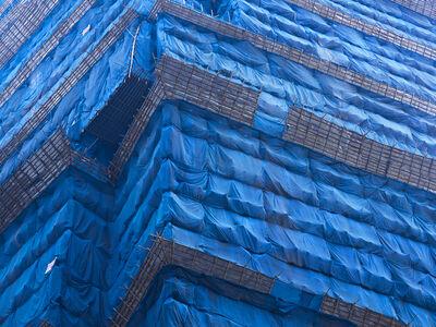 Peter Steinhauer, 'Blue Cocoon #7, Hong Kong - 2011', 2011