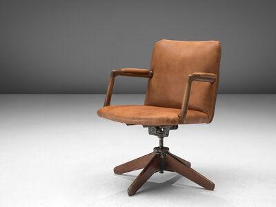 Hans Jørgensen Wegner, 'Swivel Desk Chair model  'A721'', 1940-1950s