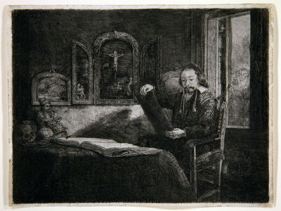 Rembrandt van Rijn, 'Portrait of Abraham Francken, Apothecary ', 1657