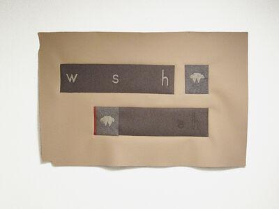 Cyrilla Mozenter, 'w s h', 2017