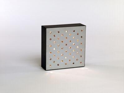 Gregorio Vardánega, 'Scintillement électronique', 1969