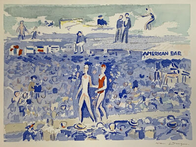 Kees van Dongen, 'Le Gala du Costume de Bain, Deauville ', 1931
