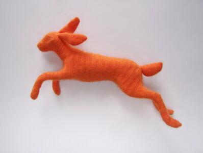 Rachel Denny, 'Orange Angora Rabbit', 2019
