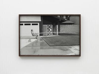 Ed Templeton, 'Man waters lawn HB, 2013', 2019