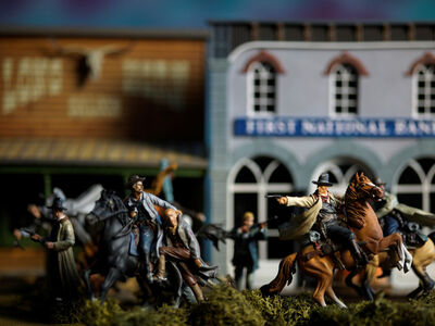 David Levinthal, 'History, Jesse James', 2015