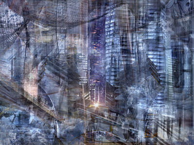 Shai Kremer, 'W.T.C:Concrete abstract # 14'