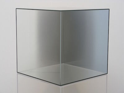 Larry Bell, 'Cube #42 (Gray) ', 2005
