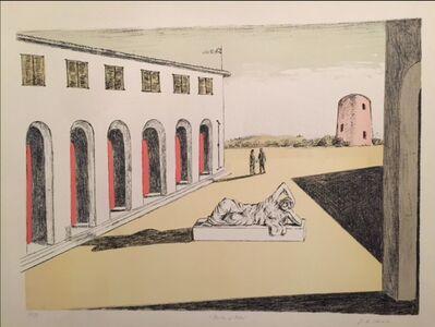 Giorgio de Chirico, 'Piazza d'Italia', 1969