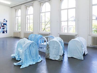 Melike Kara, 'A ke, Ma, Diya, Kes, and Nêdiya [in front]', 2019