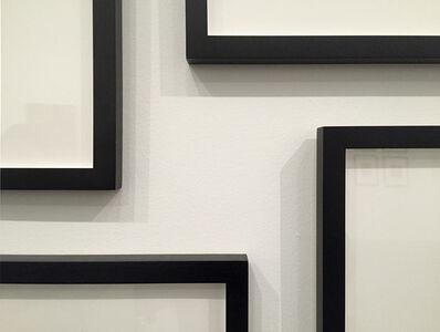 Ignasi Aballí, 'Between frames III', 2016