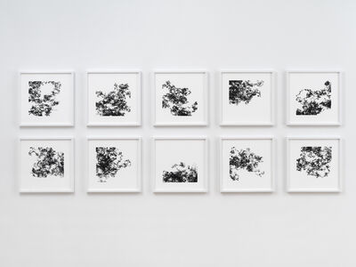 Tristan Perich, 'Ten Machine Drawings (2018-02-16),', 2018