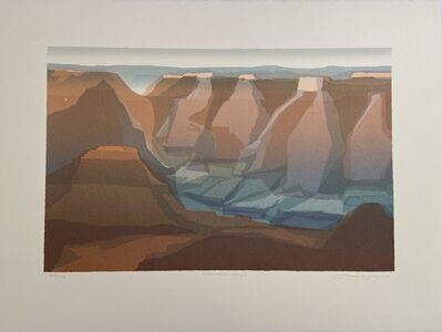 Peter Markgraf, 'Canyon Walls, Grand Canyon, Arizona', 1995
