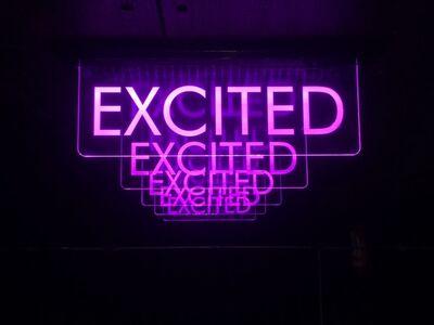 Alê Jordão, 'Excited Sign', 2018