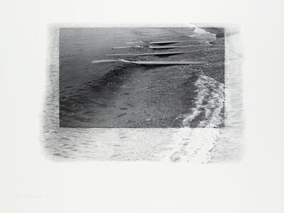 """Tatsuo Kawaguchi, 'Time Phase of """"Land and Sea"""" 1~8', 1970"""