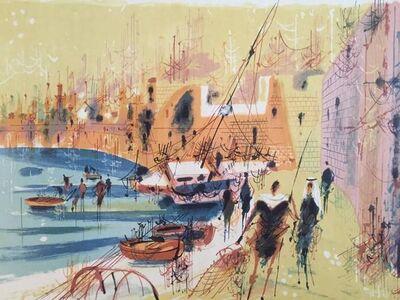 Shmuel Katz, 'Old Port of Jaffa', 20th Century